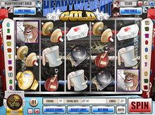free Heavyweight Gold slot machine